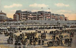 Netherlands Scheveningen Strand en Hotel Garni Beach Plage