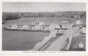 RP: UPSALA , Ontario , Canada ,30-40s; Upsala Hotel Cabins