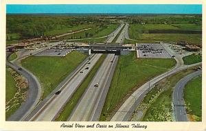 Air View of a Oasis on Illinois Tollway IL, Belvidere?