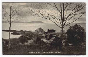Lake Rotorua Panorama North Island New Zealand postcard