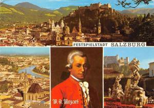 Festspielstadt Salzburg, Kirche Church Castle Mirabell Garden Statues