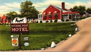 Vorginia Roanoke Hitching Post Motel