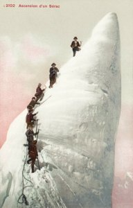 Ascension d'un Serac , Switzerland , 00-10s