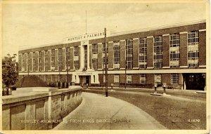 UK - England, Reading. Huntley & Palmers from King's Bridge