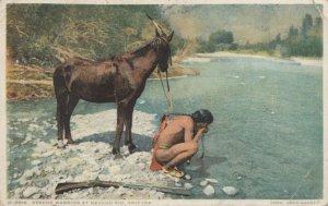 NAVAJO RIO , Arizona , 1921 ; Apache Warrior