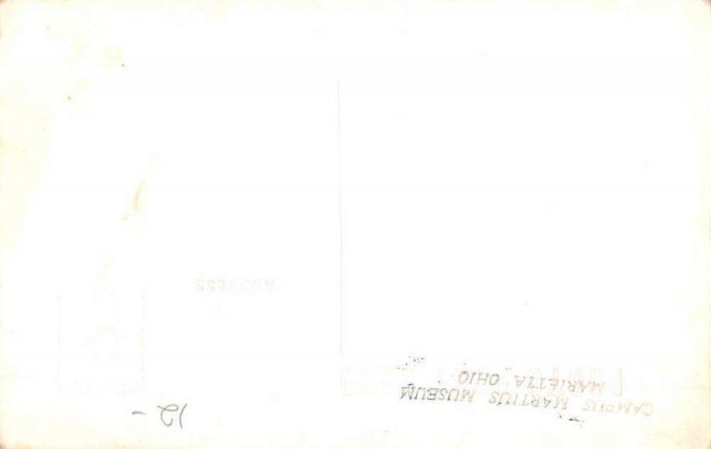 Marietta Ohio Putnam House Real Photo Antique Postcard K53303