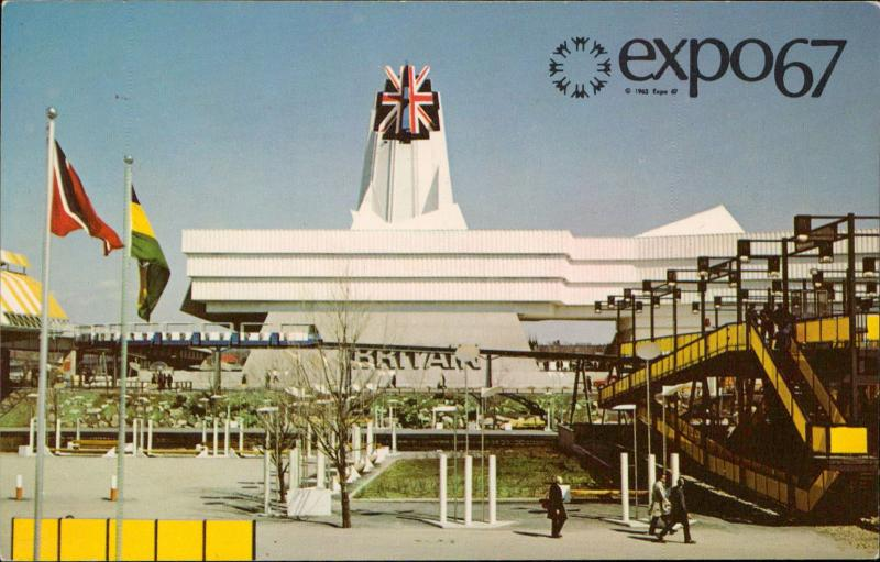 EXPO 67 Great Britain Pavilion Montreal Canada