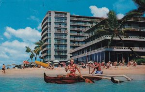 WAIKIKI, Hawaii, PU-1972; The Reef Hotel On The Beach