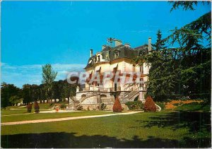 Postcard Modern Athis Mons The city hall and the park
