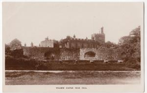 Kent; Walmer Castle Nr Deal RP PPC, Unposted, c 1910's