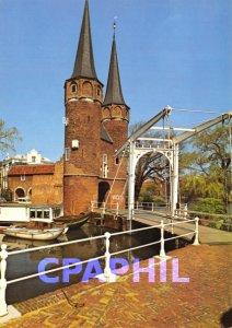 Modern Postcard Delft. De Oostpoort.