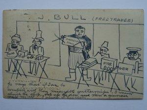 c1903 - 15 College St, Nottingham University Political Satire Hand Drawn PC (3)