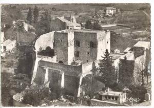 RP  Montelimar (Drome), France, PU-1973   Vue aerienne d'ensemble du Chateau ...