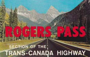 Rogers Pass, Section Of The Trans-Canada Highway, Canada, 1940-1960s