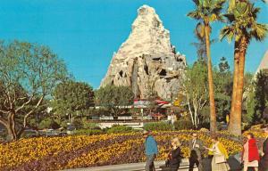 Anaheim California Disneyland Matterhorn Mountain Vintage Postcard K21701