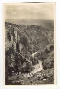 RP, Road Through The Gorge Cheddar (Somerset), England, UK, 1920-1940s