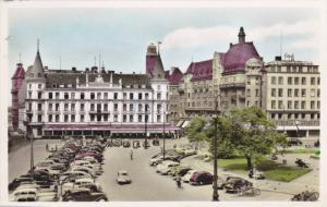 RP, The Market Place With Kramer Hotel, Malmo, Sweden, 1920-1940s