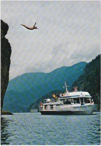 M.V. NEPTUNE SPIRIT Cruise boat , Indian Arm Fjord , B.C. , Canada , 50-70s