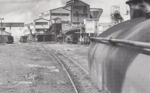 Polkemmet Colliery Whitburn West Lothian Andrew Barclay Coal Train Postcard