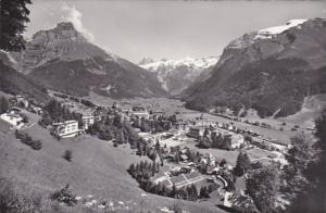 Switzerland Engelberg mit Hahnen Spannoerter und Titlis Photo