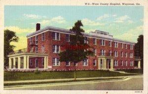 WARE COUNTY HOSPITAL WAYCROSS, GA