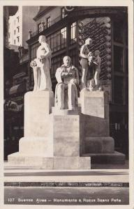 RP, Monumento A Roque Pena, Buenos Aires, Argentina, 1920-1940s
