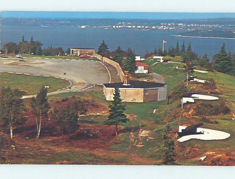 Unused Pre-1980 YORK REDOUBT ALONG SHORELINE Halifax Nova Scotia NS F4246