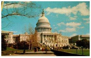 United States Capitol Building Washington DC Vintage Postcard
