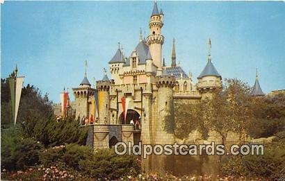 Sleeping Beauty Castle Fantasyland, Disneyland, Anaheim, CA, USA 1966