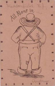 New Jersey Haddonfield All Alone In 1905