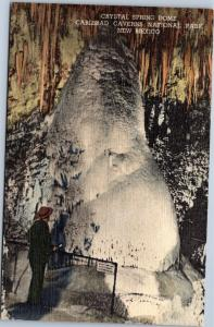 Crystal Spring Dome Carlsbad Caverns New Mexico