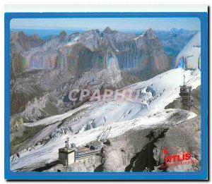 Postcard Modern Switzerland Titlis