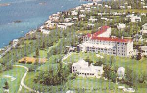 Bermuda Aerial View Belmont Manor Hotel and Golf Club