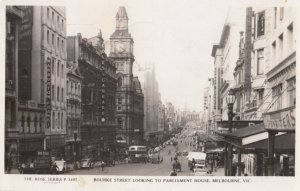 RP: MELBOURNE , Victoria. , Australia , 1920-30s ; Brourke Street