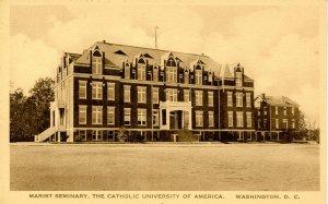 DC - Washington. Catholic Univ. of America. Marist Seminary