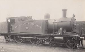 Midland & Great Northern Railway M&GN Manning Wardle Class 0-6-0T  Train RPC ...