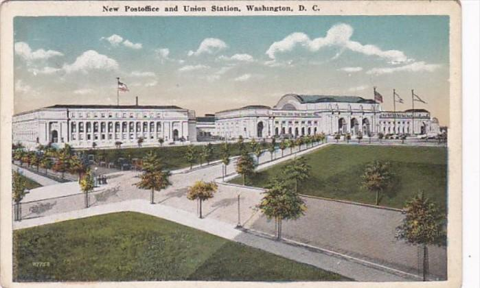 Washington D C New Post Office and Union Station