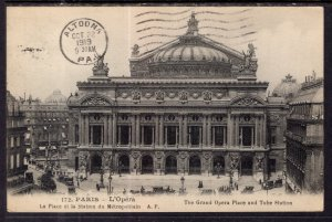 Grand Opera Place and Tube Station,Paris,France BIN