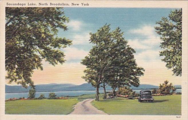 New York North Broadalbin Sacandaga Lake