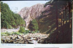 Wales Pass of Aberglaslyn North Wales - posted 1952