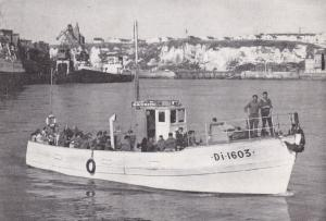 Fishermen on Boat, La Raydith, France 1920-40s