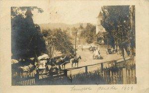 1909 RPPC; Parade, Possibly Campbell CA Horsedrawn Santa Clara County posted