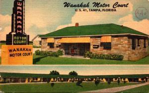 Florida Tampa Wanakah Motor Court