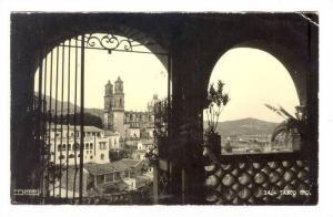 RP; View of City through Arches, Tasco, Mexico, PU-1967