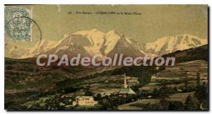 Postcard Old And Combloux Mont Blanc
