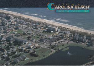 Carolina Beach , North Carolina , 60-80s ; Panorama view