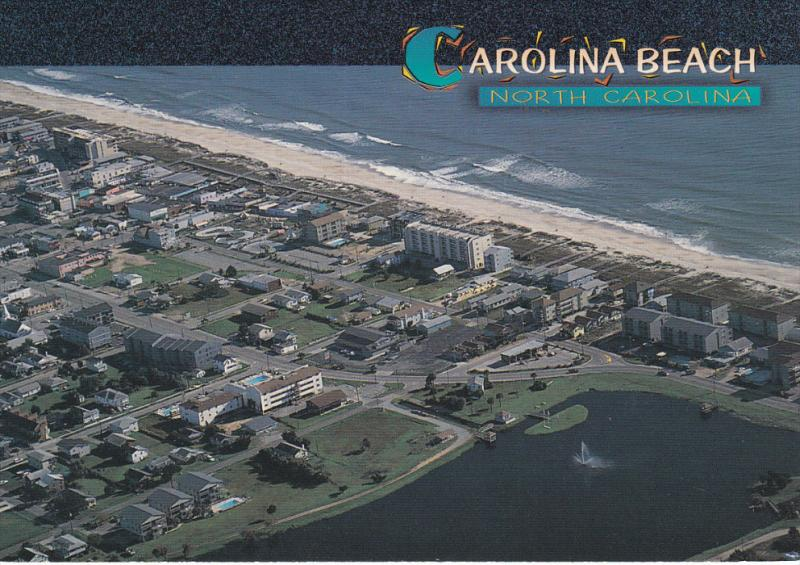 Carolina Beach , North Carolina , 60-80s ; Panorama view