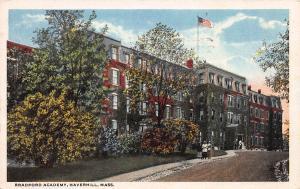 Bradford Academy, Haverhill, Massachusetts, Early Postcard, Used in 1918