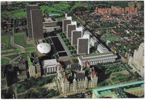 US Unused. Albany, New York. Empire State Plaza.  Nice.