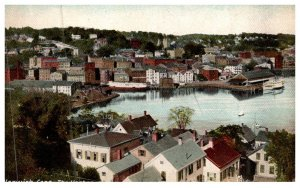 Connecticut  Norwich , View of Harbor